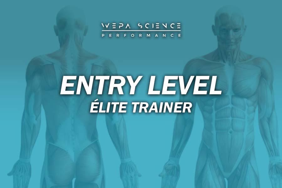 Entry Level Elite Trainer Wepa